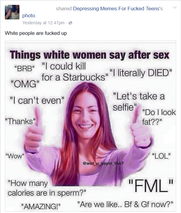 more white self hate